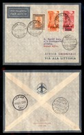 POSTA AEREA  - 1935 (13 Dicembre) - Bengasi Atbara (3477) - 15 Volati - Francobolli