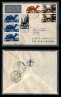 POSTA AEREA  - 1935 (16 Dicembre) - Massaua Sollum (3483) - 10 Volati - Francobolli
