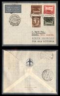 POSTA AEREA  - 1935 (22 Dicembre) - Mogadiscio Berbera (3493) - 10 Volati - Francobolli