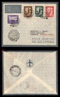 POSTA AEREA  - 1935 (22 Dicembre) - Mogadiscio Djibouti (3494) - 10 Volati - Francobolli