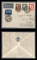 POSTA AEREA  - 1935 (22 Dicembre) - Mogadiscio Assab (3495) - 10 Volati - Francobolli