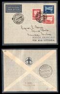 POSTA AEREA  - 1935 (22 Dicembre) - Mogadiscio Asmara (3496) - 15 Volati - Francobolli