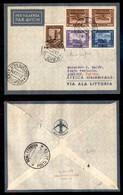 POSTA AEREA  - 1935 (22 Dicembre) - Mogadiscio Assiout (3502) - 10 Volati - Francobolli