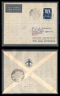 POSTA AEREA  - 1935 (22 Dicembre) - Mogadiscio Alessandria (3503) - 10 Volati - Francobolli