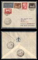 POSTA AEREA  - 1935 (22 Dicembre) - Mogadiscio Sirte (3507) - 10 Volati - Francobolli