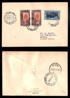 POSTA AEREA  - 1935 (26 Dicembre) - Djibouti Atbara (3510) - 10 Volati - Francobolli