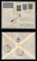 POSTA AEREA  - 1935 (26 Dicembre) - Berbera Kassala (3517) - 7 Volati - Francobolli