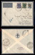 POSTA AEREA  - 1935 (26 Dicembre) - Berbera Tripoli (3518) - 15 Volati - Francobolli
