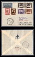 POSTA AEREA  - 1936 (10 Gennaio) - Rocca Littorio Berbera (3532) - 10 Volati - Francobolli