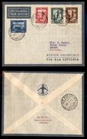 POSTA AEREA  - 1936 (10 Gennaio) - Rocca Littorio Assab (3534) - 10 Volati - Francobolli