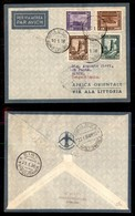 POSTA AEREA  - 1936 (10 Gennaio) - Rocca Littorio Sirte (3543) - 10 Volati - Francobolli