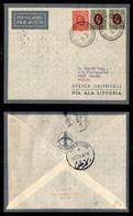 POSTA AEREA  - 1936 (12 Febbraio) - Berbera Wadi Halfa (3548) - 10 Volati - Francobolli