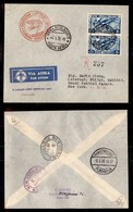 POSTA AEREA  - 1936 (4/5 Maggio) - Zeppelin - Roma New York - Francobolli