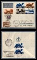 POSTA AEREA  - 1936 (18 Maggio) - Addis Abeba Roma (3562) - Rara Affrancatura - 5 Volati - Francobolli