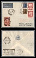 POSTA AEREA  - 1936 (18 Maggio) - Addis Abeba Roma- Mista Eritrea Somalia + Etiopia - Molto Raro - Francobolli