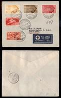 POSTA AEREA  - 1936 (18 Maggio) - Roma Addis Abeba (3564) - 6 Volati - Francobolli