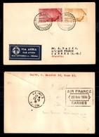POSTA AEREA  - 1936 (20 Maggio) - Roma Cannes (3567) - 24 Volati - Francobolli