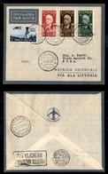 POSTA AEREA  - 1936 (19 Giugno) - Addis Abeba Roma (3571) - 9 Volati - Francobolli
