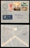 POSTA AEREA  - 1936 (1 Settembre) - Roma Addis Abeba (3583) - Raccomandato - 12 Volati - Francobolli
