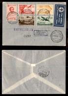 POSTA AEREA  - 1936 (1 Settembre) - Roma Dire Daua (3584) Raccomandato - 13 Volati - Francobolli