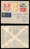 POSTA AEREA  - 1936 (1 Settembre) - Roma Harrar (3585) - 3 Raccomandati Su 15 Volati - Francobolli