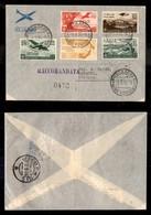 POSTA AEREA  - 1936 (1 Settembre) - Roma Gorahei (3586) - 7 Raccomandati Su 15 Volati - Francobolli