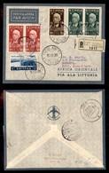 POSTA AEREA  - 1936 (10 Settembre) - Addis Abeba Berbera (3592) - 10 Volati - Francobolli