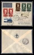 POSTA AEREA  - 1936 (10 Settembre) - Addis Abeba Djibouti (3593) - Francobolli