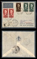 POSTA AEREA  - 1936 (10 Settembre) - Addis Abeba Sirte (3594) - Francobolli