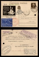 POSTA AEREA  - 1936 (27 Settembre) - Viareggio/Gara Piccoli Sferici - 16° Classificato - Francobolli