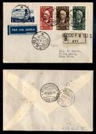 POSTA AEREA  - 1936 (27 Settembre) - Gorhahei Roma (3604) - 4 Raccomandati Su 22 Volati - Francobolli