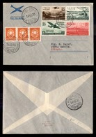 POSTA AEREA  - 1936 (15 Ottobre) - Roma (Addis Abeba) Debra Marcos (3605) - 25 Volati - Francobolli