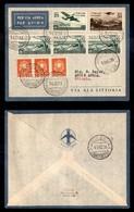 POSTA AEREA  - 1936 (15 Ottobre) - Roma Addis Abeba (3605) - 25 Volati - Francobolli