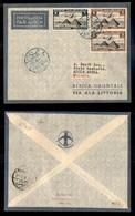 POSTA AEREA  - 1936 (22 Ottobre) - Sollum Addis Abeba (3614) - 16 Volati - Francobolli
