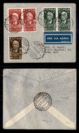 POSTA AEREA  - 1936 (29 Ottobre) - Gondar Roma (3615) - 31 Volati - Francobolli