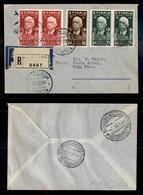 POSTA AEREA  - 1936 (12 Dicembre) - Dire Daua Roma (3621) - 10 Raccomandati Su 34 Volati - Francobolli