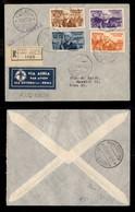 POSTA AEREA  - 1936 (12 Dicembre) - Addis Abeba Roma (3622) - Raccomandato - Francobolli