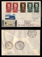 POSTA AEREA  - 1936 (12 Dicembre) - Dire Daua Djibouti (3623) - 14 Raccomandati Su 33 Volati - Francobolli