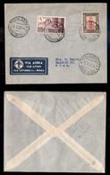 POSTA AEREA  - 1937 (15 Marzo) - Tripoli Roma - FDC Litoranea - Francobolli