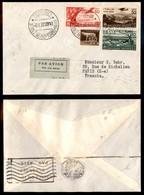 POSTA AEREA  - 1937 (6 Aprile) - Torino Parigi (3645) - Francobolli