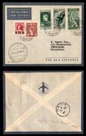 POSTA AEREA  - 1937 (7 Aprile) - Vaticano (Haifa) Gerusalemme (3651) - 26 Volati - Francobolli