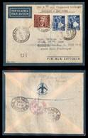 POSTA AEREA  - 1939 (2 Agosto) - Roma New York (3869) - 20 Volati - Francobolli