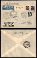 POSTA AEREA  - 1939 (21 Dicembre) - Vaticano Siviglia (3883) - Raccomandato - Molto Raro - 26 Volati - Francobolli