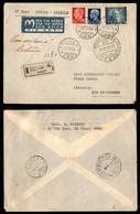 POSTA AEREA  - 1939 (21 Dicembre) - Roma Rio De Janeiro (3899) - Raccomandato - Francobolli