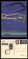 POSTA AEREA  - 1939 (21 Dicembre) - Lisbona Siviglia (3925) - Cartolina LATI - Francobolli