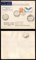 POSTA AEREA  - 1940 (19 Marzo) - Locarno (Roma) Vaticano (4000) - Francobolli