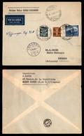 POSTA AEREA  - 1940 (19 Marzo) - Roma Locarno (4002) - Autografo Del Pilota - Francobolli
