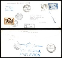 POSTA AEREA  - 1961 (6 Aprile) - Volo Gronchi - Vaticano (Roma) Buenos Aires - Francobolli