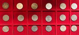 JAPAN Giappone 18 X 100 Yen 1975 -phenix - 1964 Games + Rice + 1967-68-71-72-73-74-75-76-78-79-80-87-88  D.6911-6928 - Giappone