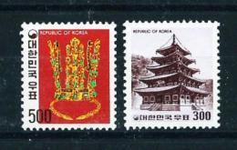 Corea Del Sur  Nº Yvert  957/8  En Nuevo - Corea Del Sur